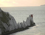 View from Alum Bay, Isle of Wight