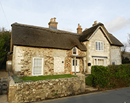 Large thatched property in Brighstone, Isle of Wight